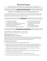 key words to use in a resume sample resume for a midlevel quality engineer monster com