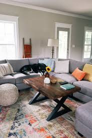 cozy living room reveal with world market u2014 chelcey tate