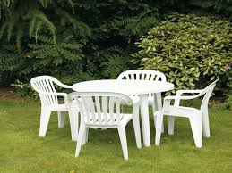 Small Patio Chair White Plastic Lawn Chairs Recycled Plastic Garden Furniture