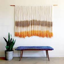 Light Colored Tapestry Large Tapestry Light Brown Natural Bright Orange Modern