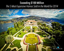 most expensive house exceeding 100 million u2013 the 5 most expensive homes sold in the