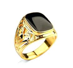 cheap engagement rings for men cheap gold rings for men new fashion 2 colors engagement