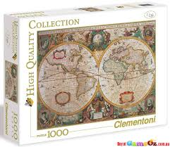 usa map jigsaw puzzle by hamilton grovely 2 clementoni 31229 map 1000 jigsaw puzzle