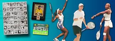 netpro netpro tennis trading cards autographed tennis