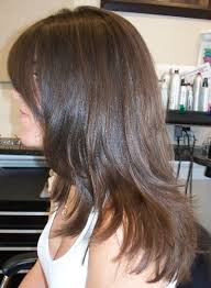 hairstyles with layered in back and longer on sides long layered haircuts back view hairstyle for women man