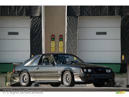 1985 saleen mustang 1985 ford mustang saleen fastback in black 244411 nysportscars