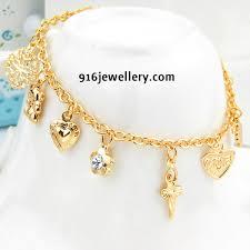 gold bracelet chain designs images Sudhakar gold works jpg