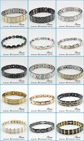 bracelet health magnetic images Energy two tone magnetic armband therapy major stainless steel jpg