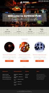 themes wordpress restaurant free sunrise wordpress theme download it for free from site5