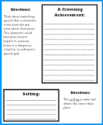 extra large castle book report project templates worksheets