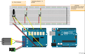arduino motorshield r3 controlling the spead with potentiometer
