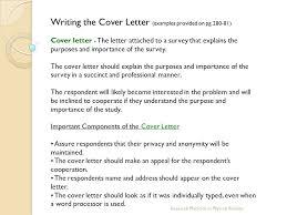 survey cover letter lukex co