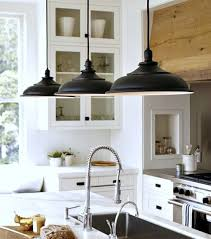White Kitchen Island Lighting Best Kitchen Island Lighting With Black Pendant Lights 9446
