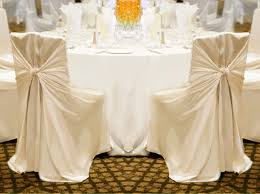 Linen Chair Covers Brand New Ivory Universal Chair Covers For Sale Weddingbee