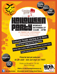 dog halloween party cominghomerescue