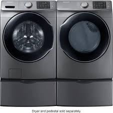 samsung 4 5 cu ft 10 cycle high efficiency front loading washer