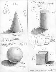 here is a tutorial i made on how to draw and shade 3d shapes a