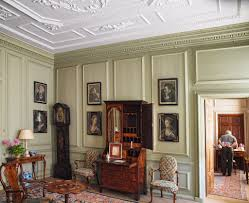adam style house green room mompesson house queen anne early georgian style