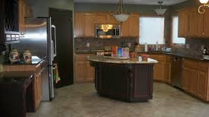 kitchen paint colors with oak cabinets home decor gallery