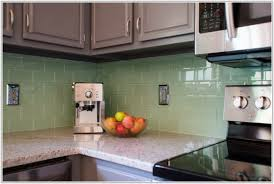 sea green glass tile backsplash tiles home decorating ideas