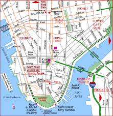 downtown manhattan map manhattan maps nyc