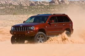 sema jeep grand cherokee mopar with six customized vehicles at moab jeep safari 2009