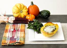 italian style stuffed spaghetti squash thanksgiving
