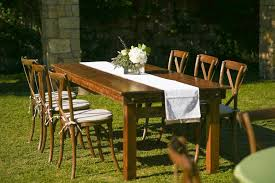 table and chair rentals okc seating arrangements oklahoma city peerless events and tents