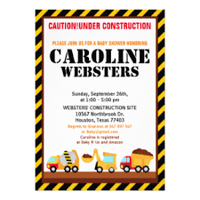 construction baby shower baby construction gifts on zazzle