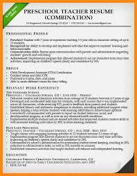 4 Resumes Samples For Teachers by 4 Resume For Teachers Sample Manager Resume