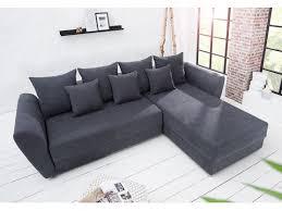 canapé d angle bois canapé d angle convertible en bois massif tissu gris palma 270 cm