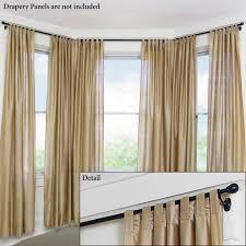 curtain ceiling mounted bay curtain pole where to ceiling mounted curtain rods flush mount curtain