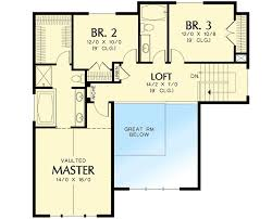 Floor Plans For Sloped Lots For A Front Sloping Lot 6924am Architectural Designs House Plans