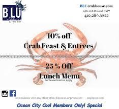Ocean City Maryland Map Happy Hour Specials Ocean City Md Ocean City Cool
