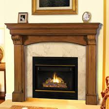 pearl solid wood mantels
