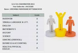 sri lankan l udeshika hettiarachchi obtains best results at o l 2011