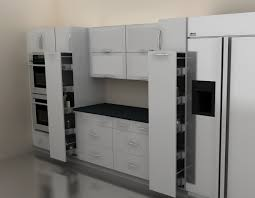 pantry closets or cabinets especially those with deep fixed