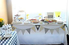 decorations for baby shower gray yellow baby shower decorating ideas of family home