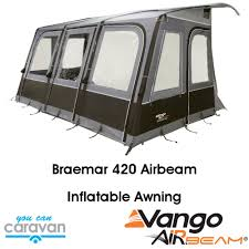 Vango Inflatable Awnings Vango Braemar 420 Awning With Airbeam Frame You Can Caravan