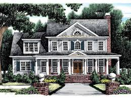 colonial home plans with photos home plan homepw11354 2426 square foot 4 bedroom 3 bathroom
