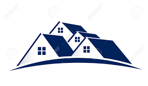 house logo group of houses stock photo picture and royalty free