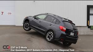 2017 subaru crosstrek colors diagonal awd test 2017 subaru crosstrek xv part 3 3 youtube