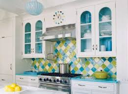 colorful kitchen design colorful kitchen cabinets