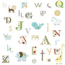 amazon com roommates rmk1440scs animal alphabet peel stick wall amazon com roommates rmk1440scs animal alphabet peel stick wall decals home improvement