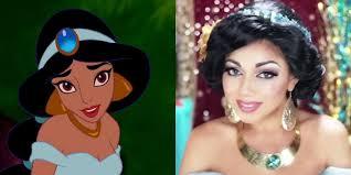 princess jasmine u0027s makeup aladdin makeup costume