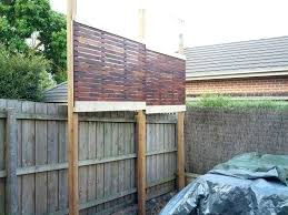 Screen Ideas For Backyard Privacy Backyard Privacy Screens Stylish Home Ideas For Everyone In 8
