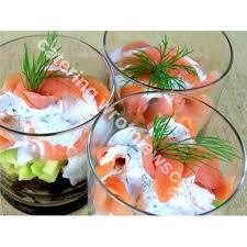 cuisine de a à z verrines verrines z łososiem catering