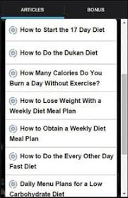 17 day diet to go tracker android apps on google play