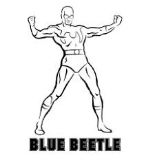 innovation design blue beetle coloring pages 16 batman coloring