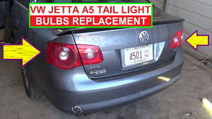 vw cc tail light bulb type vw jetta mk5 a5 rear tail light bulb replacement rear left right